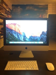 "Apple Imac 21.5"" I5/8GB/256GB SSD+500GB/512 Ekran Karti"