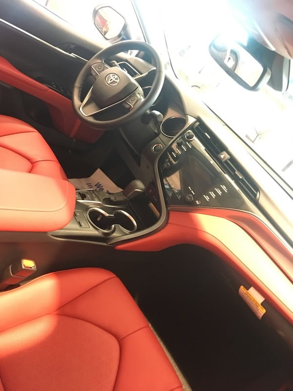 Toyota - Camry XSE Red Leather interior- 2019 4