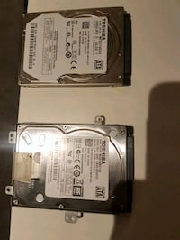 two hard disk drives (1TB and 500 GB) Toronto, M8V 2X5