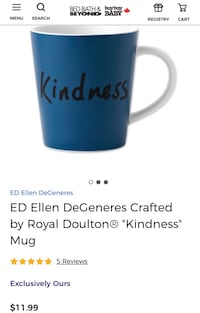 BRAND NEW in box GIFTABLE Ellen DeGeneres mug  Brampton, L6V 2M7