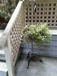 PLANT STAND   WROUGHT IRON $49.99