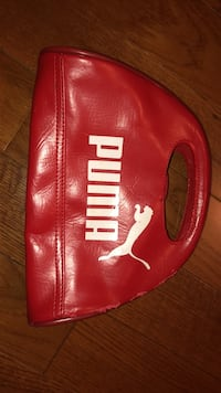 Red puma purse London, N6L