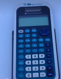 black and grey Texas Instruments TI-35 MultiView c King, 27021