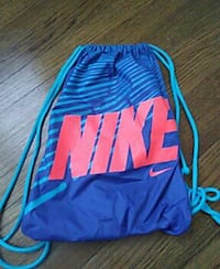 blue and red Nike drawstring backpack Newport News, 23607