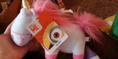 Minion unicorn plush