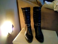 Leather Harley Davidson Boots. Only worn once.  Olive Branch, 38654