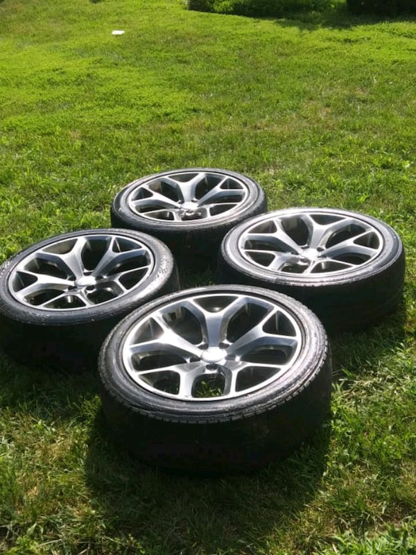 Dodge Charger 20' Wheels.  Set of 4 0