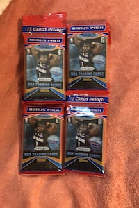 4 jumbo sealed packs of 2019-20 Prizm basketball packs lot Beltsville, 20705