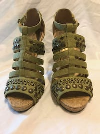 Spring green strappies heel Worcester, 01610
