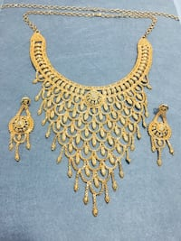 Gold Coloured Indian Wedding Set Surrey