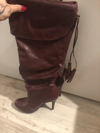 "Brown ""leather"" boots"
