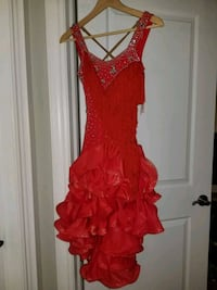 Red Ballroom dress Toronto, M8W 4X6