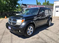 2008 Dodge Nitro Comes Certified/Automatic/4x4/Fog Lights Scarborough, ON M1J 3H5, Canada