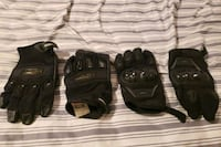 Motorcycle Gloves 2 Pairs both sizes XL Frederick, 21702