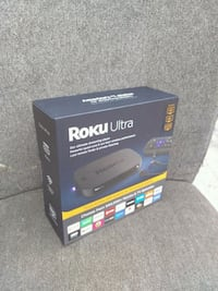 ROKU ULTRA UNOPENED NEVER BEEN THOUCHED Orange, 92868