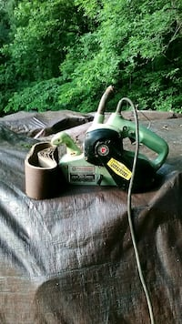 Belt sander Rockwell 3x21 has 7 belts Purcellville