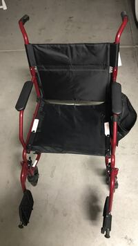 black and red wheelchair Las Vegas, 89142