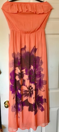 Peach Maxi Dress (long)