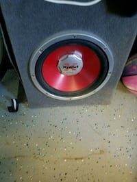 black and red Sony Xplod subwoofer in box Hillsville, 24343