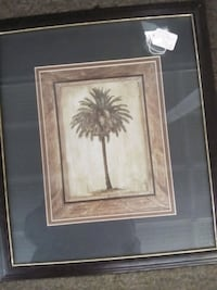 Pair Palm Tree Pictures Deerfield, 53531