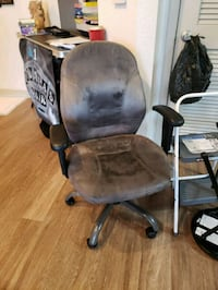 office chair grey hydraulic Davie, 33314
