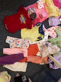 Baby girl clothes newborn n 0-3 months mix all for $15 worn once  Woodbridge, 22192