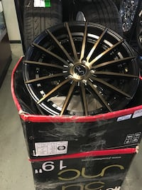 JNC 19 inch wheels 5x114.3 for the set $999.99 with tires $1299.99 Indianapolis, 46227