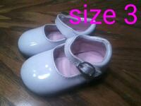 Size 3 baby girl dress shoes Taylors, 29687