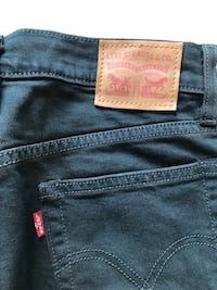 "Levi's classic ""Wedgie"" black skinny jeans Toronto, M4P 1R2"