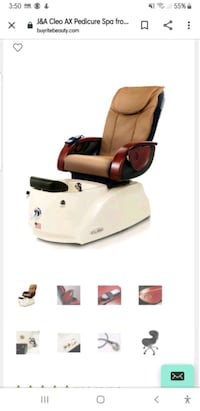 J&A Pedicure Chair Total of 6 chairs available College Park, 20740