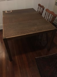 rectangular brown wooden table with chairs Los Angeles, 90031