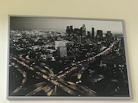 Downtown LA abstract painting 2274 mi