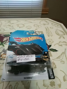 Hot Wheels batmobile die-cast