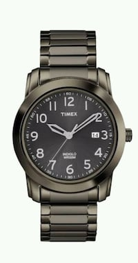 round black analog watch with link bracelet Kalamazoo, 49008