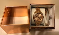 Michael Kors Rose Gold Watch/Bracelet Ser Washington, 20036