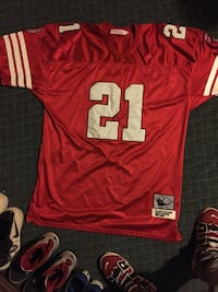 Throwback Deion Sanders Jersey District Heights, 20747