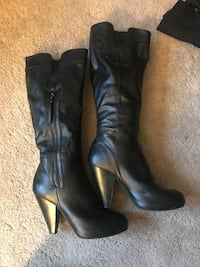 Black Knee High Boots - Size 9 Seattle, 98126