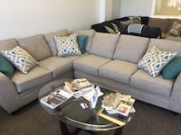 Brand New Sectional with Teal Pillows  Rock Hill, 29730