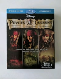 Pirates of the Caribbean Blu-ray