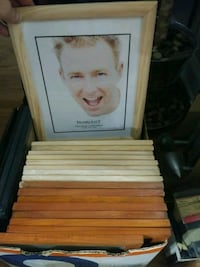 Wood Pic Frame $20all or $1each  8×10& 8.5×11 New  Toronto, M1E 2A6