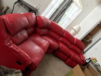 Red sofa-couch Meadow Woods, 32824