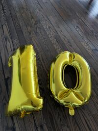 FREE number balloons #10 only Toronto, M8V 2Z6