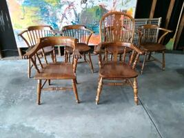Six 1957 Stuckley Chairs