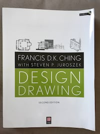Design Drawing Second Edition by Francis D.K. Ching with Steven P. Juroszek book Mississauga, L4T 2P7
