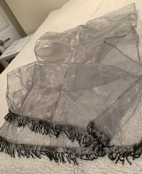 Sheer grey scarf/shawl Oakville, L6L 4X4