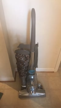 Gray and blue upright vacuum cleaner Yorktown, 23692