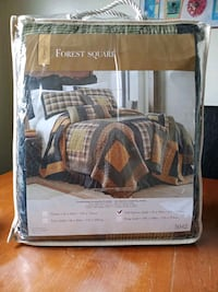 Brand New, Donna Sharp Forest Sq Quilt, Full/Queen London, N5Z 3C1