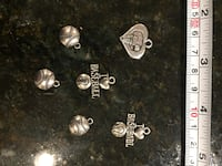 DIY charms lot for jewelry making or art craft baseball basketball Lutherville Timonium, 21093