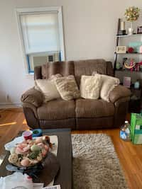 Swell Used Fabulous Futon For Sale In New York Letgo Theyellowbook Wood Chair Design Ideas Theyellowbookinfo