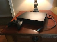 Xbox one x mint condition with controller and all wires Richmond, 23236